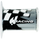Sport Bike Grips - Silver - Racing~2008 Ducati Monster S4Rs Testastretta~Harri's