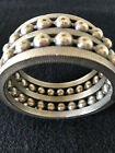 Jay Strongwater/Jay Feinberg Metallic Plated Bracelet Excellent Condition