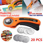 20pcs Rotary Cutter Blades Quilters Sewing Patchwork Fabric Spare Blade 45mm