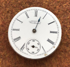 Vintage 1899 Waltham 1891 Pocket Watch Movement Parts/Repair 0s 7j Grade Seaside