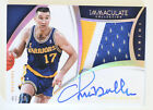 Chris Mullin 2014-15 Immaculate Collection Patch Auto Gold # 10