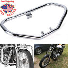 Engine Guard Crash Bar Protect For Harley Sportster XL883 XL1200 48 72 1984-2003