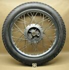 2000 Royal Enfield Bullet 500 Rear Hub Spoke Rim Tire Wheel Assembly