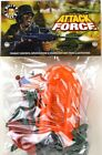 Billy V Toys 41046 Attack Force Plastic Toy Soldiers Small Bag Set 1/32 Scale