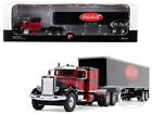 PETERBILT 351 SLEEPER CAB W 40 TRAILER PETERBILT 1 64 BY FIRST GEAR 60 0426