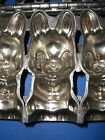 Antique Chocolate Mold Candy Mold Easter Bunny Rabbit Metal Mold