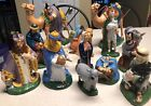 Vintage 1960s Holland Mold Large Hand Painted Ceramic Nativity 15 Pcs