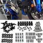 Complete Set Fairing Bolt Kit Body Screws Fasteners For Honda Kawasaki Suzuki