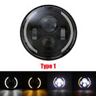 7in 40W LED Headlights Motor Headlamp for Jeep Wrangler with DRL Motorcycle S8B7