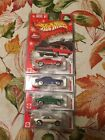Hot Wheels Larry Wood Limited Edition Holiday Rods 67 Camaro Set of 4