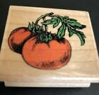 Rubber Stamp Tomatoes Stamp Affair 2 EUC Retired Vegetables