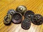 Antique Vintage Victorian  Button Lot...Mixed Lot..Mixed Sizes