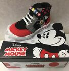 Disney Mickey Mouse High Top Boys Toddler Oxford New in Box