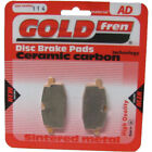 Front Disc Brake Pads for Adly Silver Fox 50 2000 50cc  By GOLDfren
