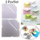 2 Pcs set Envelope Metal Cutting Dies for DIY Scrapbooking Embossing Paper Cards