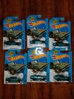 HOT WHEELS Nissan Skyline 2000GT R  Teal  2014 Lot of 6 FREE SHIPPING
