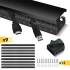 Stageek Cable Management Kit Open Slot On WallWiring Raceway Duct with Cover TVs
