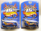Hot Wheels 15th Convention Drag Bus Set of 2 Both Variations