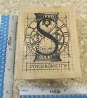 LETTER S SYNCHRONICITY MW RUBBER STAMP STAMPER ANONYMOUS K2 640