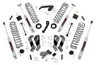 Rough Country 35 Suspension Lift Kit for 2007 2018 Jeep JK Wrangler Unlimited