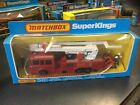 Matchbox K39 Snorkel Fire Engine 1979 Lesney Products New Unpunched