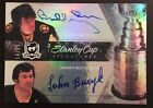 2010-11 UD The Cup - Bobby Orr, Johnny Bucyk Stanley Cup Signatures 25 Auto WOW