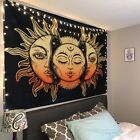 USA Sun and Moon Tapestries Psychedelic Wall Hanging Tapestry Art Home Decoratio