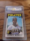 1986 Topps Traded #11 Barry Bonds Rookie card 10 GEM -MT