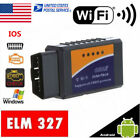 ELM327 OBDII WiFi Diagnostic Engine MPH Fuel Scanner Tool For Toyota Tundra 2014
