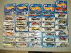 Hot Wheels lot of 30 Mostly 67 Camaros VW Bugs  Mustangs All on Nice Cards