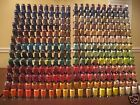LOT OF 260 Spools Embroidery Machine Thread STUNNING COLORS