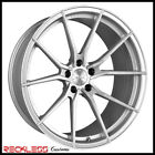 20 VERTINI RF12 CONCAVE SILVER WHEELS RIMS FITS FORD MUSTANG GT GT500