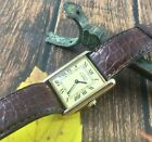 2640) Must de Cartier Tank Manual Watch Swiss Made cal. 78-1 23.5mm Used