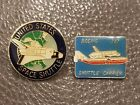 Vintage Columbia Space Shuttle NASA Boeing 747 Carrier Pin Lot of 2
