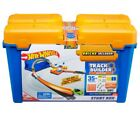 Track Builder Set Hot Wheels Race Stunt Box Playset Booster Include Car For Kids