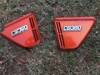 HONDA CB360 (CB360T) Matching OEM side cover panel set w/ badges and grommets