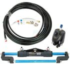 300HP Hydraulic Outboard Steering System Boat Steering Cylinder Helm Kit
