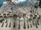 OLD STERLING SILVER REED BARTON FRANCIS 1 FLATWARE SET HEAVY LARGE RARE SERVERS