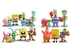 6PCS 8PCS SpongeBob Squarepants Patrick Star Tentacles PVC Figures Kid Toy gift