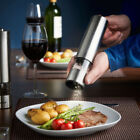 New Kitchen Salt Shaker Electric Grinder Steel Pepper Mill Electronic Stainless