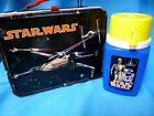 VINTAGE LUNCH BOX STAR WARS 1977 WITH THERMOS