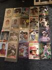 Lot Of 40 Mixed Baseball Cards Vintage Rookie Stars Hall Of Famers Hi Book