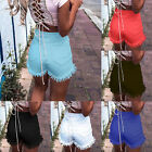 Ladies Vintage Ripped Womens High Waisted Denim Shorts Jeans Hot Pants Summer