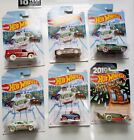 HOT WHEELS 2018 HOLIDAY HOT RODS SET OF 6 COLLECTORS ITEM
