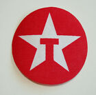 Texaco Star Oil & Gas Gasoline Red Thin Cloth Car Jacket Patch New NOS 1980s