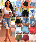Women High Waist Denim Jeans Casual Hotpants Summer Casual Beach Hot Short Pants