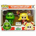 Grinch & Cindy-Lou Who Funko POP! Vinyl Exclusive 2-Pack
