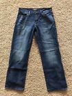 Lucky Brand 361 Vintage Straight Jeans Mens Size 34x32 Actual 34x31