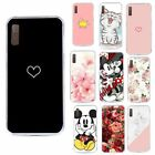 Phone Coque For Samsung Galaxy A7 2018 Case Soft Luxury Back Cover For Samsung