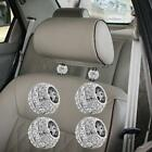 Customized Steering Wheel Covers And Car Accessories With Bling-bling Designs